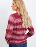 Bordowy sweter Shantelle                                  zdj.                                  2