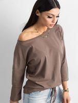 Brązowa bluzka Fiona                                  zdj.                                  3