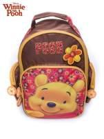 Brązowy plecak szkolny na kółkach walizka DISNEY Kubuś Puchatek                                  zdj.                                  8