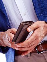 Brązowy portfel dla mężczyzny skórzany                                  zdj.                                  6