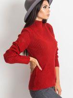 Ciemnoczerwony sweter Milo                                  zdj.                                  3