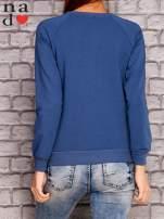 Ciemnoniebieska bluza z napisem MAM FOCHA                                  zdj.                                  4