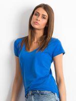 Ciemnoniebieski t-shirt Square                                  zdj.                                  3