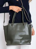 Ciemnozielona damska torba z ekoskóry                                  zdj.                                  2