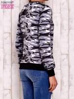 Czarna bluza z motywem moro                                  zdj.                                  4