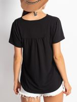 Czarna bluzka Celebrite                                  zdj.                                  2
