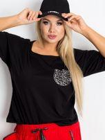 Czarna bluzka plus size Touchy                                  zdj.                                  3