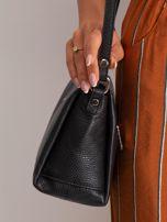 Czarna damska torebka skórzana                                  zdj.                                  3