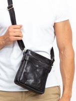 Czarna męska torba listonoszka                                  zdj.                                  1