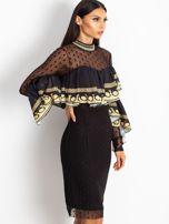 Czarna sukienka Clair                                  zdj.                                  3