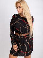 Czarna sukienka plus size Sunny                                  zdj.                                  6