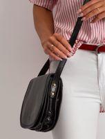Czarna torebka ze skóry naturalnej                                  zdj.                                  2
