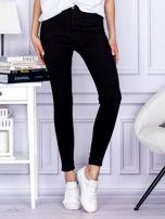 Czarne spodnie high waist                                   zdj.                                  1