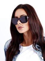 Czarno-Czerwone Damskie Okulary POLARYZACYJNE                                   zdj.                                  1