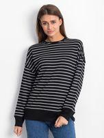 Czarno-biała bluza Continuously                                  zdj.                                  1