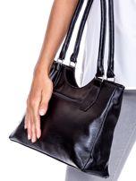 Czarno-szara torebka na ramię                                   zdj.                                  2