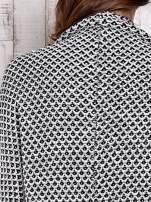 Czarny melanżowy sweter z biżuteryjną aplikacją                                  zdj.                                  9