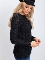 Czarny sweter Attractive                                  zdj.                                  7