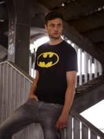 Czarny t-shirt męski BATMAN