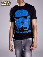 Czarny t-shirt męski STAR WARS                                  zdj.                                  5