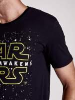 Czarny t-shirt męski motyw STAR WARS                                                                          zdj.                                                                         7