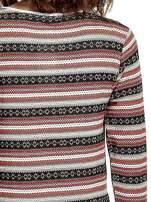Czerwona bluza w azteckie wzory                                                                          zdj.                                                                         7