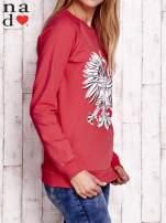 Czerwona bluza z godłem                                                                          zdj.                                                                         4