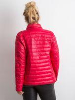 Czerwona kurtka z pikowaniem PLUS SIZE                                  zdj.                                  2