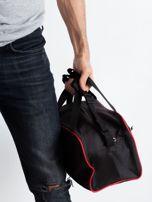 Czerwona męska torba na ramię                                  zdj.                                  3