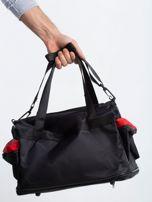 Czerwona męska torba treningowa                                  zdj.                                  2