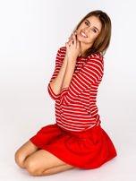 Czerwona spódnica z falbaną                                  zdj.                                  6