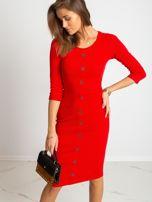 Czerwona sukienka Sting                                  zdj.                                  1