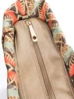 Czerwona torba gumowa z motywem azteckim                                  zdj.                                  6