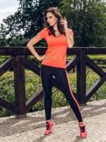 Czerwone buty sportowe damskie z elastyczną podeszwą                                                                          zdj.                                                                         5
