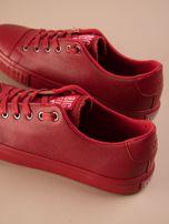 Czerwone tenisówki BIG STAR z tłoczonym logo na podeszwie                                  zdj.                                  4