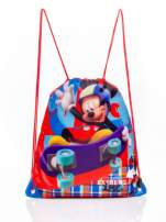 Czerwony plecak worek DISNEY Myszka Miki