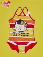 Czerwony strój kąpielowy dla dziewczynki HELLO KITTY                                  zdj.                                  1