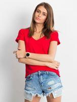Czerwony t-shirt Square                                  zdj.                                  1