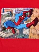 Czerwony t-shirt chłopięcy SPIDERMAN                                  zdj.                                  4