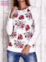 Ecru bluza w kwiaty                                                                          zdj.                                                                         1