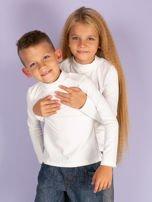Ecru bluzka dziecięca z półgolfem                                   zdj.                                  5