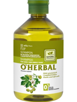 Elfa Pharm O'Herbal Szampon do włosów kręconych i niezdyscyplinowanych z chmielem 500 ml