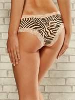 Figi damskie motyw zebry 2 szt.                                   zdj.                                  5