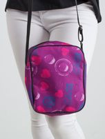 Fioletowa torebka we wzory                                   zdj.                                  2