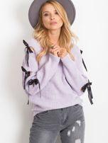 Fioletowy sweter Hailee                                  zdj.                                  5