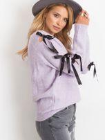 Fioletowy sweter Hailee                                  zdj.                                  3