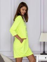 Fluo zielona sukienka LIKE A ROCK STAR                                  zdj.                                  3