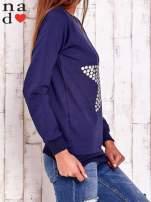 Granatowa bluza z gwiazdą