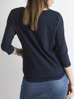 Granatowa bluzka April                                  zdj.                                  2