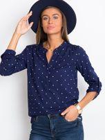 Granatowa bluzka Tweet                                  zdj.                                  5